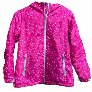 Lands End girl's hooded winter coat SZ 14 (L)